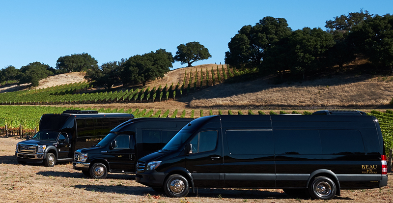 napa valley wine tour bus 1