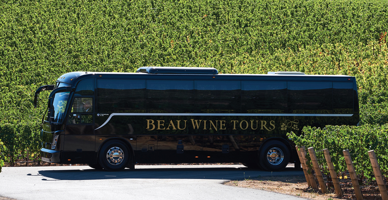 napa valley wine tour luxury shuttle service