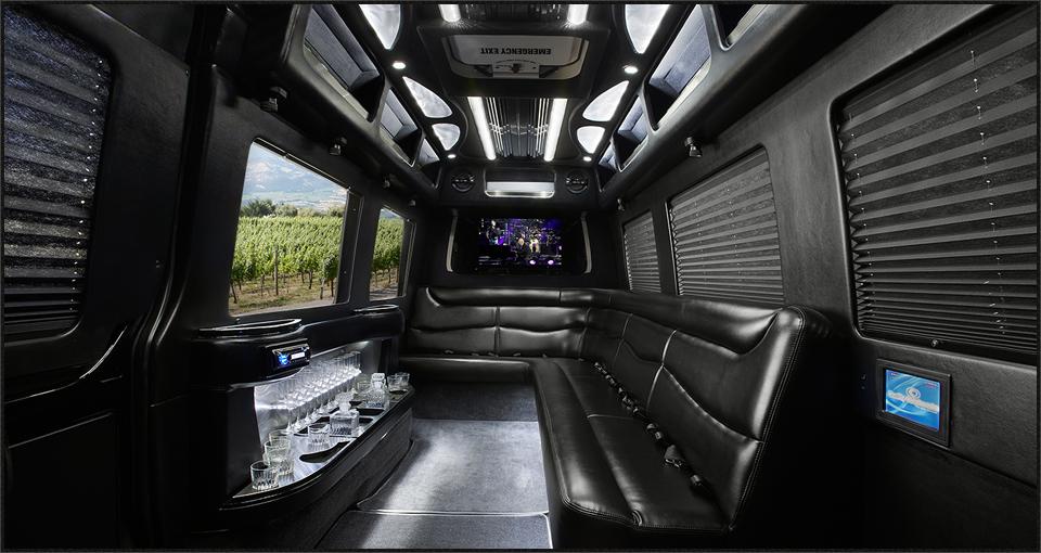 sonoma limousine service