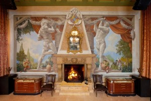 del dotto great wall fireplace