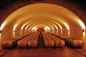 old wine barrel caves spring mountain vineyard