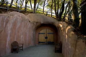 benziger cave entrance