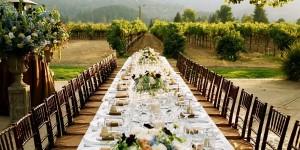 richardwood table vineyard dining harvest inn