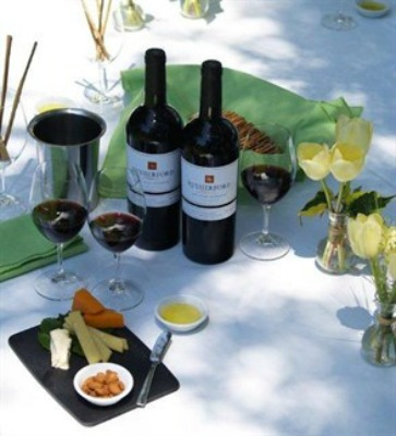 rutherford ranch cheese wine picnic