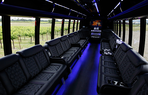 30P Limo Bus vehicle ext