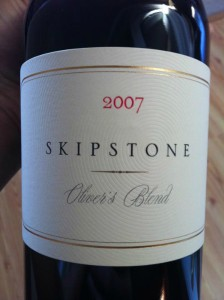 Skipstone Ranch Olivers Blend 2007