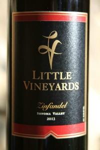 2013 Little Vineyards Zinfandel