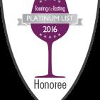 Napa Valley Platinum List 2016 Honoree