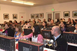 Wine Glass education with Riedel at the Napa Valley Wine Academy