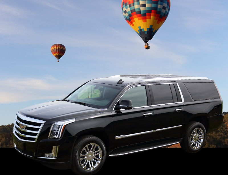 limousine balloon ride wine tour package