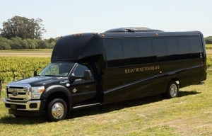 Beau Wine Tours Vehicle