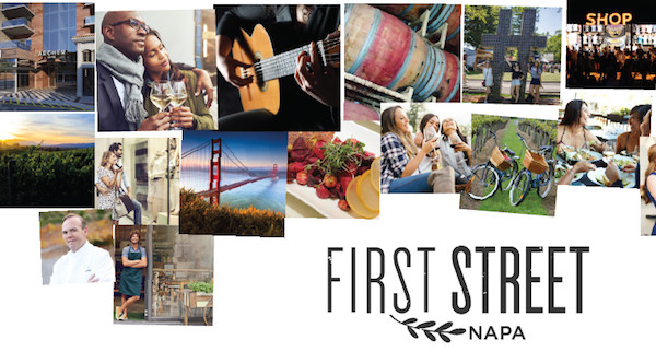 Celebrate Arts in April First Street Napa district