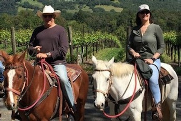 Saddle up for your Shadybrook Estate Napa Valley wine tour with Beau Wine Tours!
